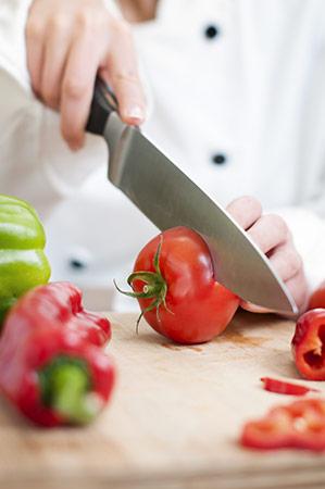 couper tomates