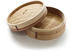 panier bambou pour cuire à la vapeur
