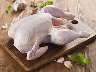 poulet à l'ail