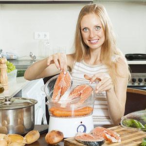 préparation cuit-vapeur