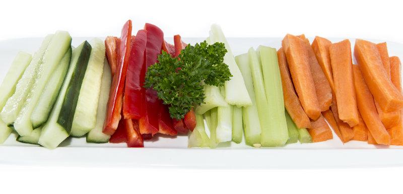 Une assiette de crudités, une bonne idée santé ?